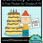 Birthday Book: A Way to Celebrate Birthdays in the Classroom