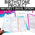 Birthstone Brochure or Pamphlet