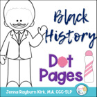 Black History: Dot Pages FREEBIE