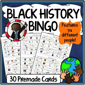 Black History Month Bingo Fun