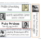 Black History Month Paper Bookmarks {Celebrate Diversity}