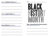 Black History Month QR Code