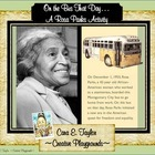 Black History Month~Rosa Parks Bus Activity