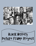 Black History Project - Picture Frame Collage