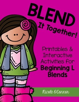 http://www.teacherspayteachers.com/Product/Blend-It-Together-Beginning-L-Blends-Activities-1629348