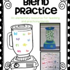 Blender Blends {a consonant blend unit}