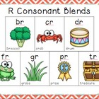Blending with Consonant Blends { R BLENDS: br, cr, dr, fr,