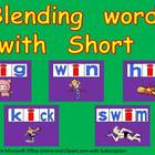 Blending words short i vowel sound PowerPoint-      Kinder