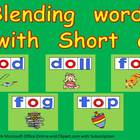 Blending words short o vowel sound PowerPoint- Kindergarten- 1st
