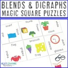 Blends Digraphs Magic Square Puzzle