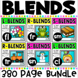 Blends {Let's Learn The Blends Series} Phonics Printables Bundle