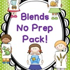 Blends and Digraphs  No Prep Bundle
