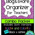 Blog & Store Organizer / Planner for Teachers (Teacherpren