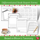 Blooming Book Report Forms!