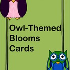 Blooms Owl-Themed Cards