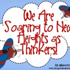 Bloom's Taxonomy Classroom Posters (Soaring to New Heights