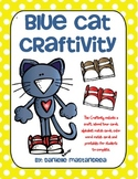 Groovy Blue Cat Craftivity