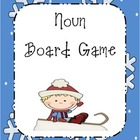 Board Game:  Nouns - Winter Themed