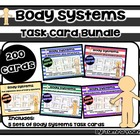 Body Systems Task Card Bundle {5 Sets}