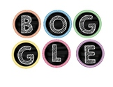 Boggle Chevron and Chalkboard Theme