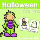 Boo! A Halloween CVCe Memory Match and Game