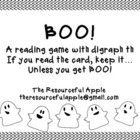 Boo! A Reading Game with Digraph th