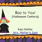 Boo! to You! {Halloween Centers}