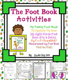 """The Foot Book"" by Dr. Seuss Unit"