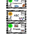 Book Basket Labels for Reading Center