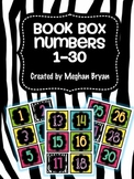 Book Box Labels {1-30} Set 5