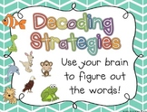 Book Buddies Decoding Strategies {Posters and Bookmarks!}