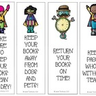 Book Care Bookmarks