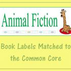 Book Labels Matched To Common Core