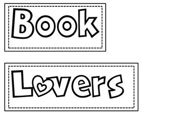 Book Lovers Anchor Chart