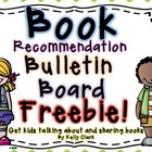 Book Recommendation Bulletin Board FREEBIE