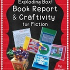 Book Report and Craftivity for Fiction: The Exploding Box!