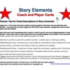 Book Report and Story Summary Pack:  Coach and Player Card