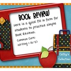 Book Review  Common Core Writing 1 {FREEBIE}