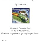 Book Study : Commander Toad in Space