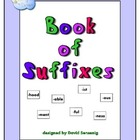 Book of Suffixes Worksheets: enhancing vocabulary by learn
