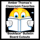 Bookface Bulletin Board Cutouts