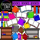 Books, Books {Creative Clips Digital Clipart}