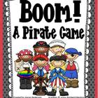 Boom! A Pirate Game-Can Be Played With Any Subject