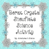 Borax Crystal Snowflake Science Activity