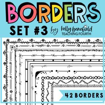 Borders By Kelly B. Set #3: Mega Border Pack