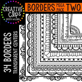 Borders MEGA Pack 2 {Creative Clips Digital Clipart}