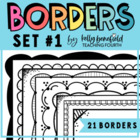 Borders by Kelly B. Set 1