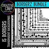 Borderz Bundle 1 {Creative Clips Digital Clipart}