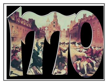 Boston Massacre- 1770 YeArt