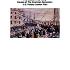 Boston Tea Party Lesson - Common Core - Primary Source Documents